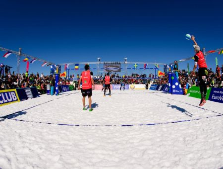 FIVB-CEV Snow Volleyball - Wagrain 2019 © Chaka2/ConnyKurth